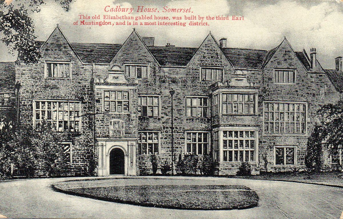 North Cadbury Court c1910