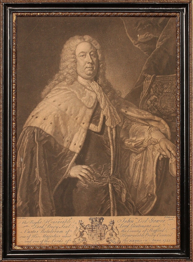 Lord Gower c.1743 ©The Baron de Newmarch Collection